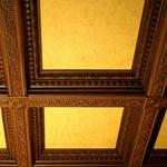 потолки с багета с покраской