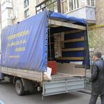 """Газель нестандартная:высокая с длинной базой - Перевозка стенки """"Юниор"""" и дивана с Боярки в Киев.  http://kabanchik.com.ua/tasks/item/34120"""