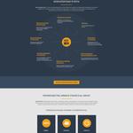 Landing Page для финансовой компании!