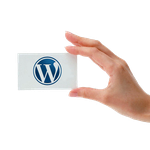 Адаптивный сайт-визитка на WordPress