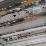 Ремонт люминисцентного светильника 4х18 Вт