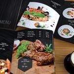 """Разработка дизайна меню  для ресторана """"BAR BER BAR"""", верстка и подготовка к печати"""