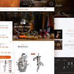 Интернет магазин. Адаптивный дизайн