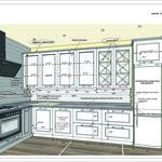 Создание дизайн проектов, конструктива и преварительной сметы кухонной мебели