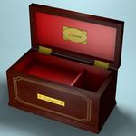 """3D-модель шкатулки з аніме серіалу """"Elfen lied"""""""