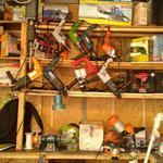 Заточка цепей для бензо и электропил, ножей, топоров, ножей для газонокосилок.