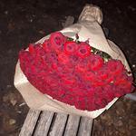 Доставка цветов (101 роза)