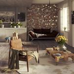 Дизайн кімнати (лофт)