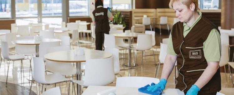 уборка ресторанов, баров, кафе