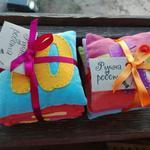 Пошив сенсорных мешочков