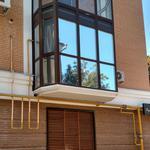 Тонировка окон балконов