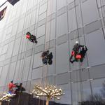 Миття вікон, фасада