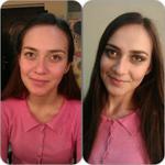 Дневной макияж. Время исполнения: 40 мин.