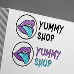 Разработка лого для сайта сладостей из США.