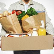 Доставка продуктов и готовой еды