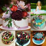Авторские торты с украшениями ручной работы на любой вкус