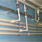 Замена труб холодной/горячей воды