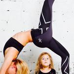 Йога для мам, массаж+гимнастика для детей