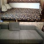 Сборка-расборка и перестановка 2 диванов
