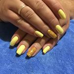 Яскравий жовтий