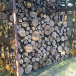 Складывание дров.