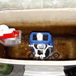 Решить проблему с постоянным подтеканием воды в унитаз. Купить и заменить необходимую запчасть. Заняло около 2 часов.