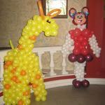 Декор шарами детского праздника.