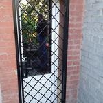Вываривание решетки на двери