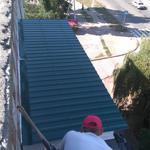 Ремонт и реставрация кровли на балконе