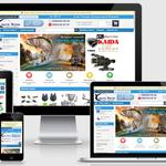 Интернет-магазин товаров для рыбалки оптом и в розницу. Выполнен на CMS OpenCart.