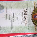 диплом от Академии Наук