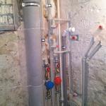 """В """"хрущевке"""" замена стояков водопровода и канализации, монтаж счётчиков Х и ГВС, и разводка водопровода и канализации"""