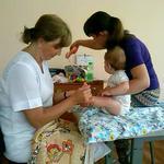 Детский массаж начиная с грудничков