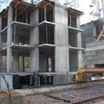 Монолитное строительство жилого комплекса
