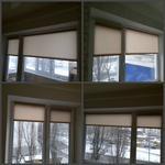 Встановлення ролет на вікна.