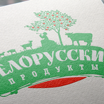 Дизайн логотипа для фермерских продуктов изБелоруси