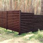 Изготовление и установка деревянных ограждений из натурального дерева