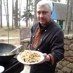 Приготовлю плов и другие блюда с костра, карвинг