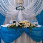 Оформление зала тканями на свадьбу, день рождения, праздники