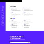 Создание сайта с эксклюзивным дизайном + адаптив под моб устройства. Профессионально