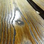 Браширование древесины, искусственное состаривание.