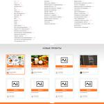 Дизайн лендинга / сайта