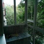 """Балкон в """"хрущевке"""" """"под ключ"""" - расширение, установка конструкций, отделка """"лакшери"""", встроенный шкаф, комод."""