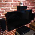 Установка телевизора и аккустичской системы с подключением и настройкой 3 часа