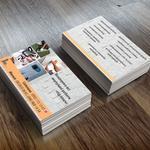 Нужен опыт, разработка визиток. Минимальная цена услуги