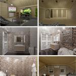 Дизайн и 3D визуализация интерьера