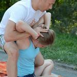 Восстанавливающий массаж после тренировки к марафону.