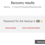 Помогу восстановить пароль резервной копии iPhone и iPad по e-mail