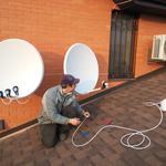 Установка спутникового ТВ без абонплаты по доступным ценам.