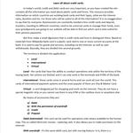 Написание заглавной статьи на английском для сайта  о кредитных картах.